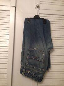"Mens Blue Diesel Jeans - 33"" Waist/ 30 Leg"