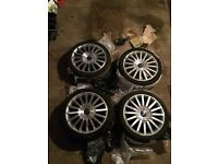 ST220 alloy wheels for ford Mondeo