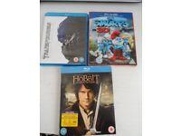 3 blueray films