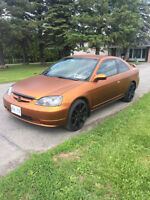 2002 Honda Civic DX Coupe (2 door)