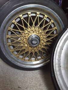 Work Ewings (with spacer/adapters) GREAT MK4 Fitment Belleville Belleville Area image 1