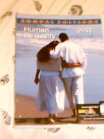 HUMAN SEXUALITY - ANNUAL EDITION - 01/02