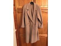 Stylish M&S cashmere coat size 16