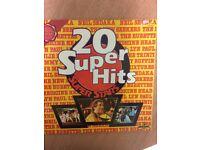 20 SUPER HITS SUPERSTARS LP