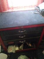 Vintage Proto Roll Cab Tool Box With Tools Included
