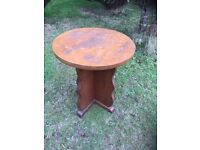 Oak pub table WITH REAL CHARACTER