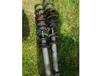BMW 5 series springs and shocks
