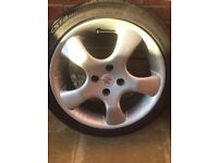 4x100 16 inch alloy wheels
