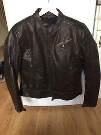 Ladies/women's frank Thomas Motorbike Jacket real leather
