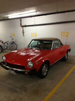 1978 Fiat 124 Spider with only 163,000 kms - $9600 (Vancouver)