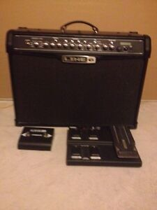 Line 6 Spider IV 120 with FBV2 and FBV pedals