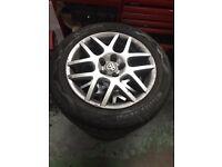 Golf Bora Polo alloy wheels