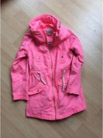 Girls pink jacket size 10 Next .