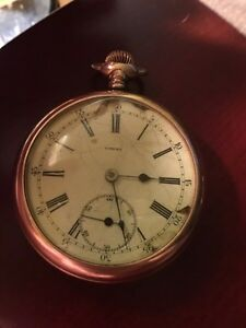 1890s?  Omega watch
