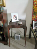 Antique Mahogany Wine  Table