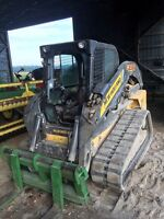 Skid steer and dump trailer services