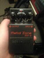 BOSS MT-2 Metal Zone $40.00 obo