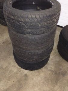 Set of 215/45R17 Goodyear ealge GT