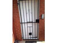 Security gate security grill burglar bars metal door wrought iron gate