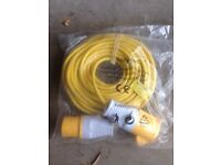 110V extension lead 14m brand new