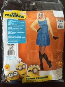 Adult ladies minion Halloween costume - L