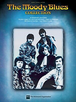 The Moody Blues Collection Sheet Music Piano Vocal Guitar SongBook NEW 000307123 on Rummage