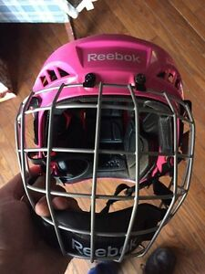 Girls youth  pink hockey helmet Peterborough Peterborough Area image 1