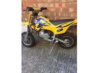 Kids 50cc mini dirt bike petrol