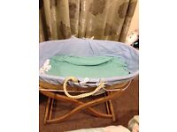 Lovely Moses basket - Now Reduced