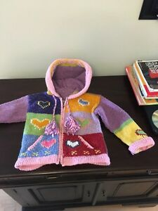 Home knit sweater 2t/3t
