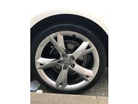 "19"" genuine Audi A5 wheels x4"