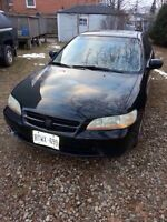 1999 accord for sale or trade for dirt bike