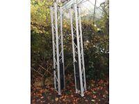 Astralite goalpost. 4 metres long.