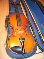 VINTAGE CZECH AND HUNGARIAN STRADIVARIUS TYPE VIOLINS