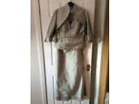 Mother of the bride 3 piece outfit, Catherine's of Partick size 14