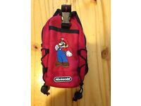 Mario carry case.