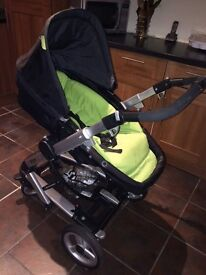 M&P's Skate Pushchair with Car seat