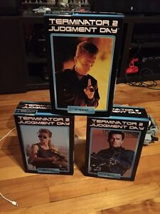 Neca Terminator 2 figurines - T-800, T-1000 and Sarah Connor West Island Greater Montréal image 1