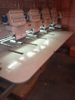 SWF 4 Head Embroidery Machine
