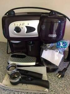 Delongi Pump Combi Coffee Maker Bradbury Campbelltown Area Preview
