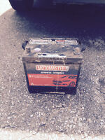 Motomaster Car Battery - Product Number 10-2500-4