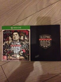 Sleeping Dogs definitive edition Xbox one