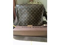 Louis Vuitton satchel/messenger bag