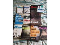 10 Book Lot - Ian Rankin - Inspector Rebus books