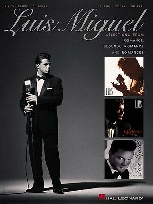 Luis Miguel Selections from Romance Segundo and Romances Sheet Music 000306434