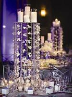 acrylic stand 4 pole $68.99 ea for sale wedding centerpiece