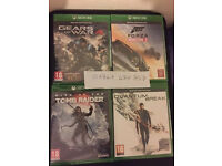 5X XBOX ONE GAMES -FORZA HORIZON 3 - GEARS OF WAR 4 -QUANTUM BREAK -TOMB RAIDER BRAND NEW & SEALED