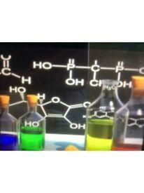 CHEMISTRY TUITION/TUTOR : GLASGOW AREA