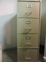 SOLD:  Filing Cabinets