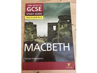 Macbeth Revision York Notes for GCSE